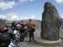 Eccoci a 2802 metri sul COL DE LA BONETTE - luglio 2012